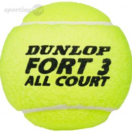 Piłki do tenisa ziemnego Dunlop Fort All Court Tournament Select 4szt Dunlop