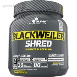 ODŻYWKA OLIMP BLACKWEILER SHRED 480G EXOTIC