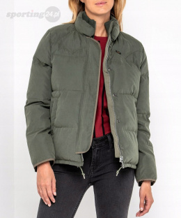 KURTKA DAMSKA LEE PUFFER GREY GREEN